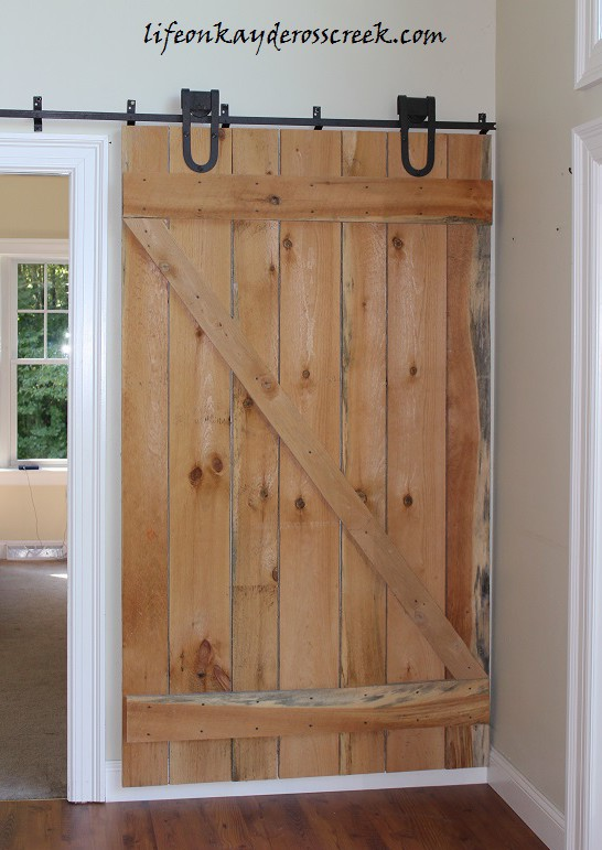 Barn Door with Hardware