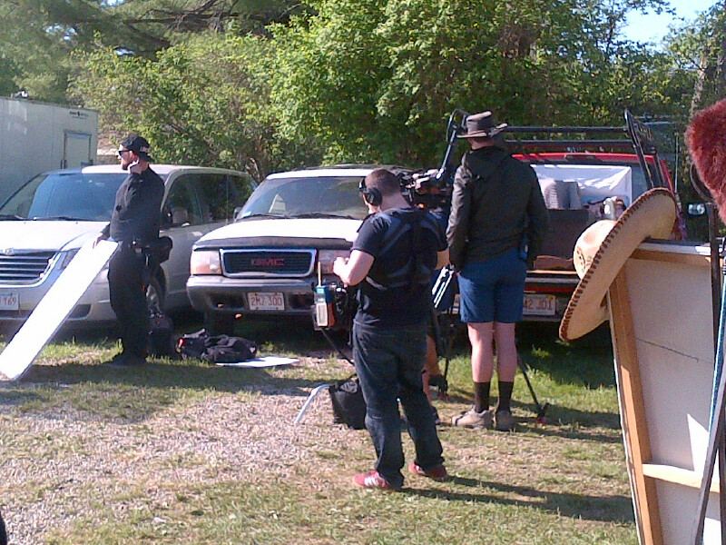 Brimfield - filming