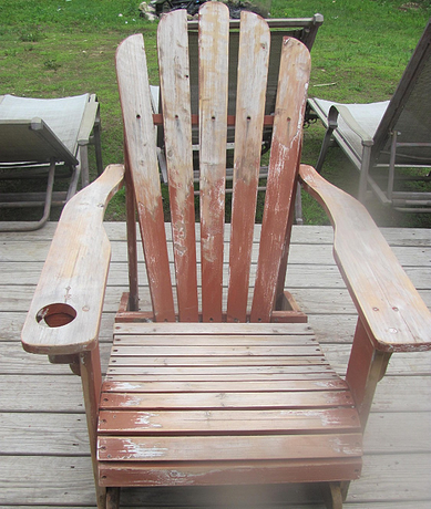 Adirondack Chair Before