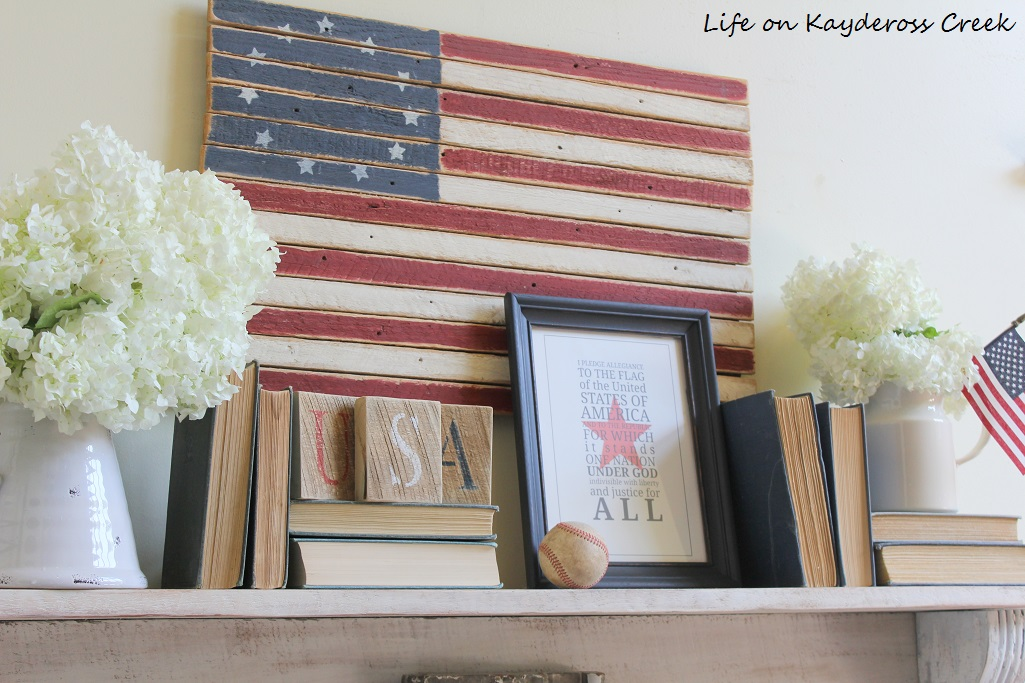 How to Decorate or 4th of July on a Budget - DIY projects - Life on Kaydeross Creek