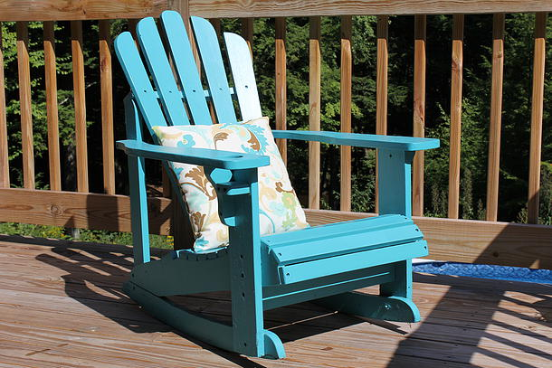 adirondack chair completed