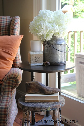 Side Tables; One is Good, Two is Better