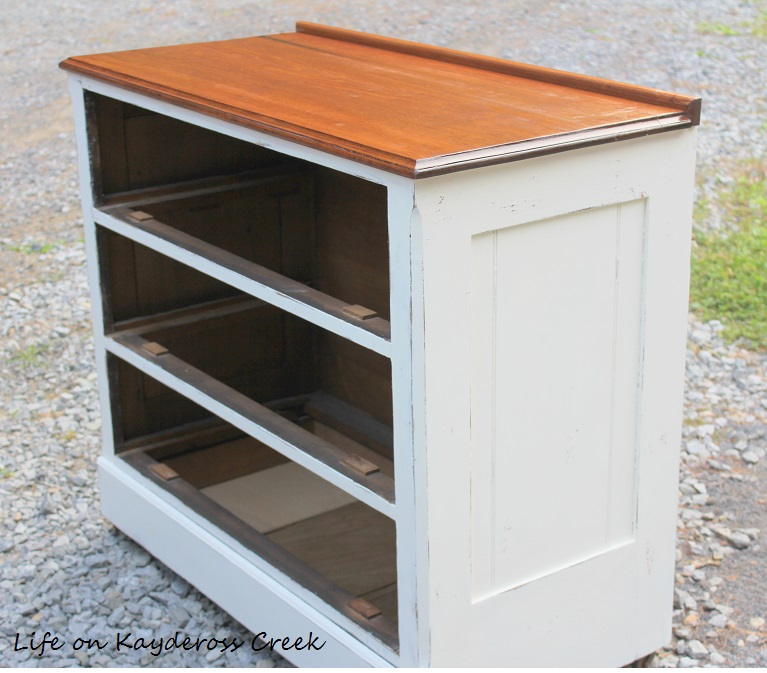 Painted Furniture - Dresser Makeover - Thrift Store upcyle -Danish Oil - Life on Kaydeross Creek