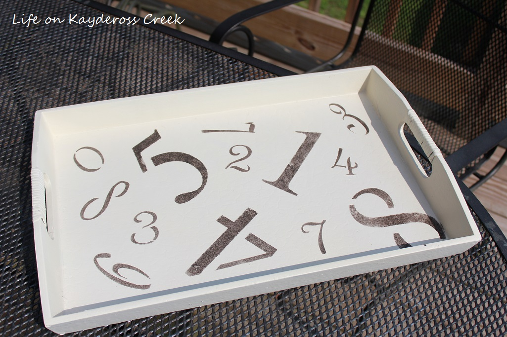 Upcycled Tray Project - Life on Kaydeross Creek