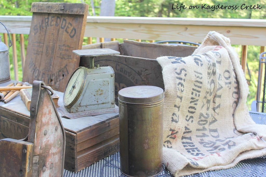 Farmhouse Treasures from the Brimfield Antiques Show trip - Life on Kaydeross Creek