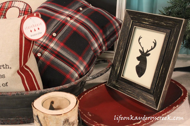 Christmas Decor Theme - Getting ready for the Holiday Home Tour - Life on Kaydeross Creek