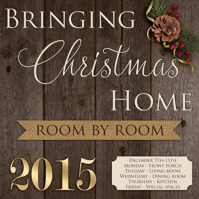 Bringing Christmas Home Tour 2015