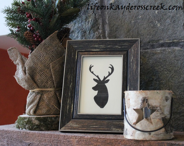 Great Room Mantle - Holiday Home Tour - Christmas Decor - Life on Kaydeross Creek