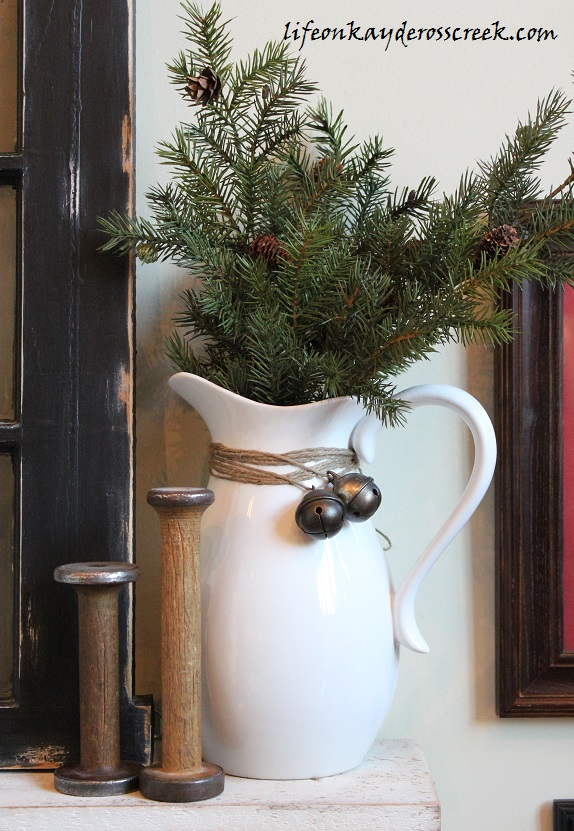 Bringing Christmas Home Tour 2015- Farmhouse Christmas - Christmas Bells -Life on Kaydeross Creek