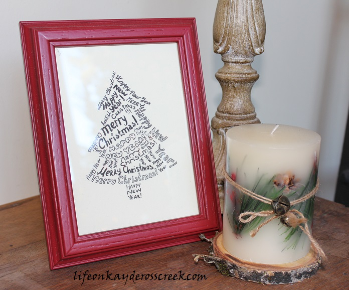 Bringing Christmas Home Tour 2015- Farmhouse Christmas - Christmas Crafts - Life on Kaydeross Creek