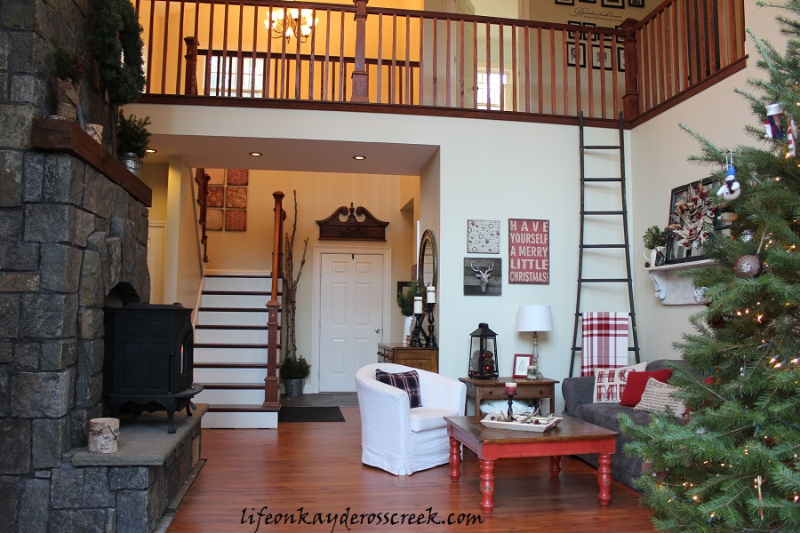 Rustic Christmas Home Tour - Life on Kaydeross Creek