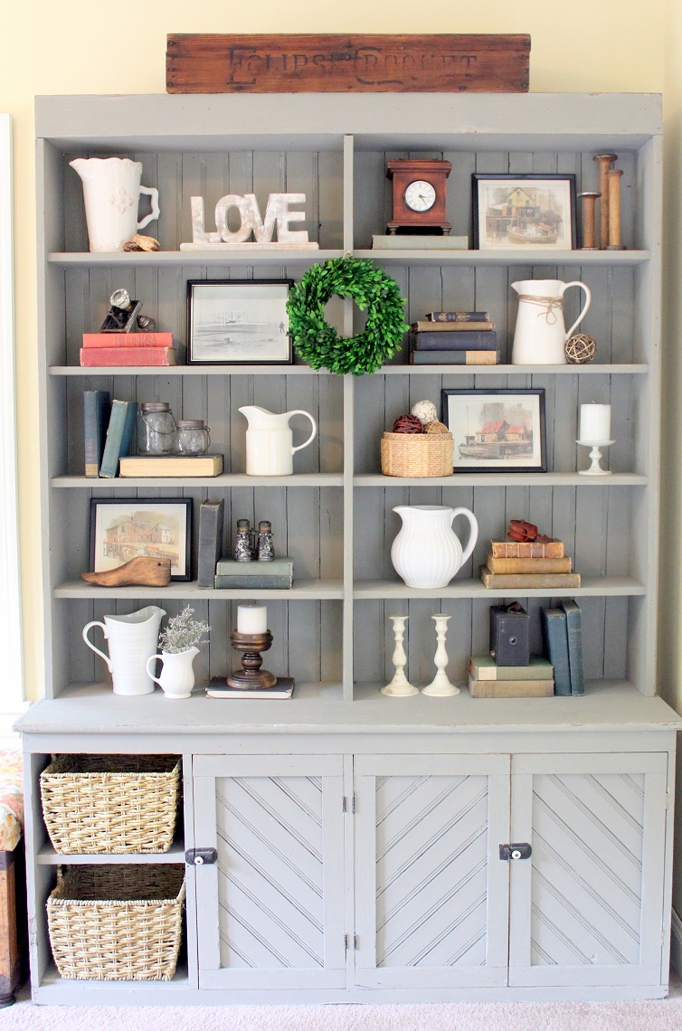 Top 10 Posts - painted-furniture-antique-hutch-makeover-using-pure-original-paint-paint-techniques-life-on-kaydeross-creek