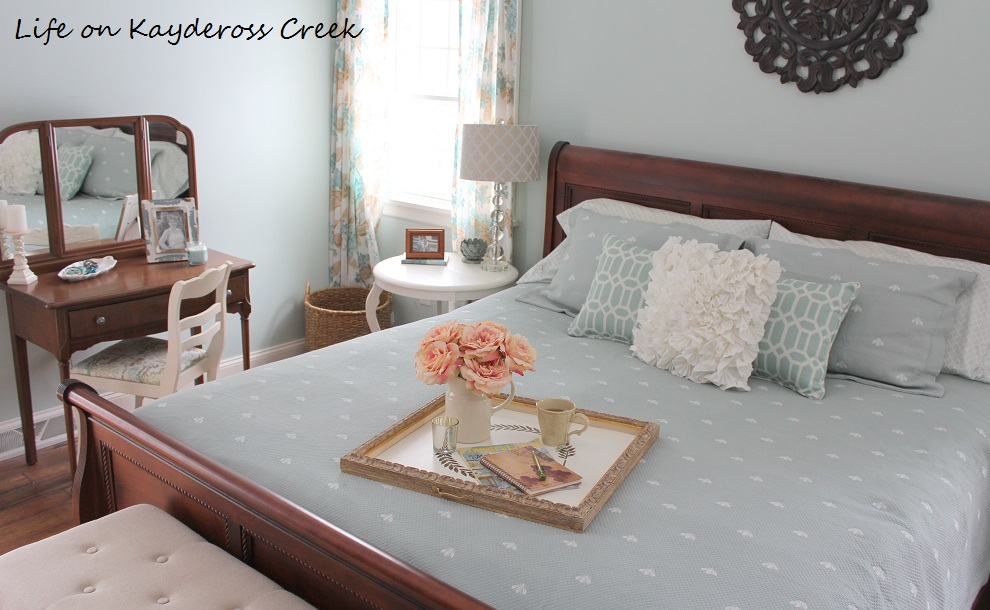 Create a beautiful new tray from a thrift store old frame - upcycle - Life on Kaydeross Creek