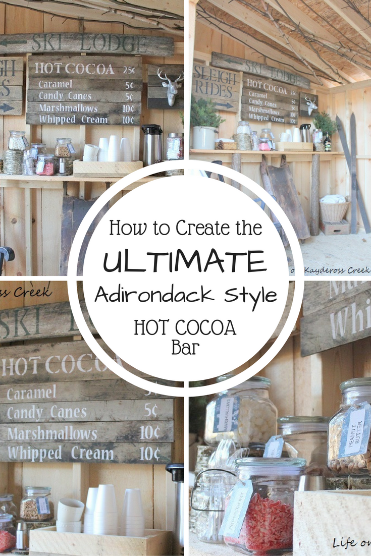 How to Create the Ultimate Hot Cocoa Bar - Life on Kaydeross Creek