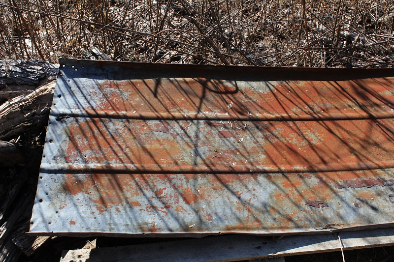 Rusty Tin Roofing - Life on Kaydeross Creek