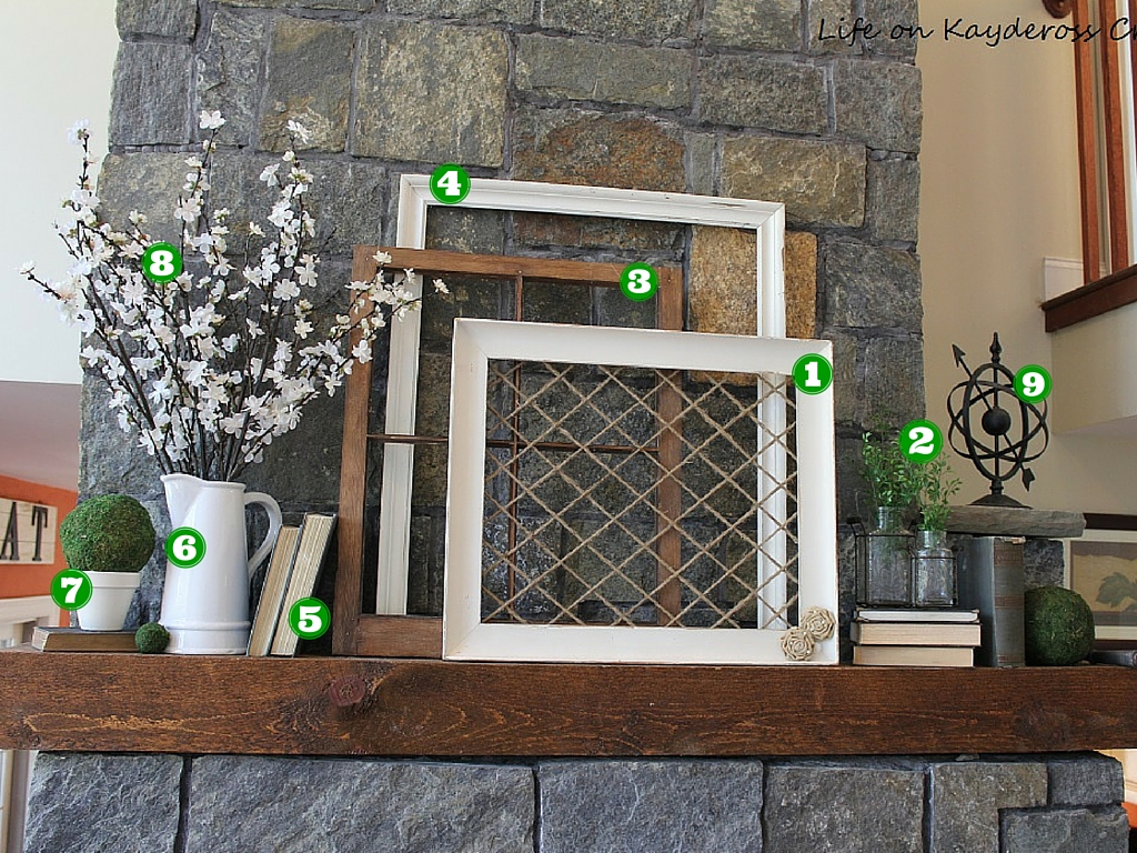Sprint Mantel on a Budget