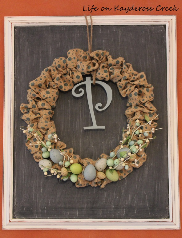 DIY Blog Hop – Polka Dot Spring Wreath