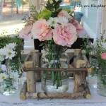 Glass Jar Centerpiece with an Adirondack Twist