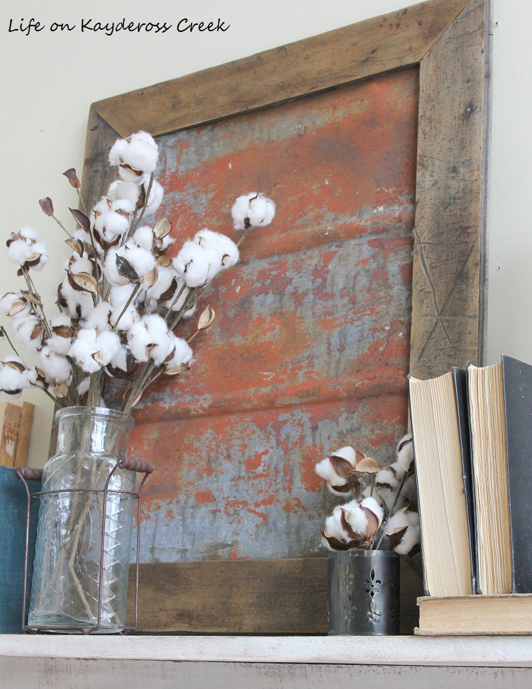 Fixer Upper Inspired Metal Wall Decor with a beautiful orange Patina - Life on Kaydeross Creek