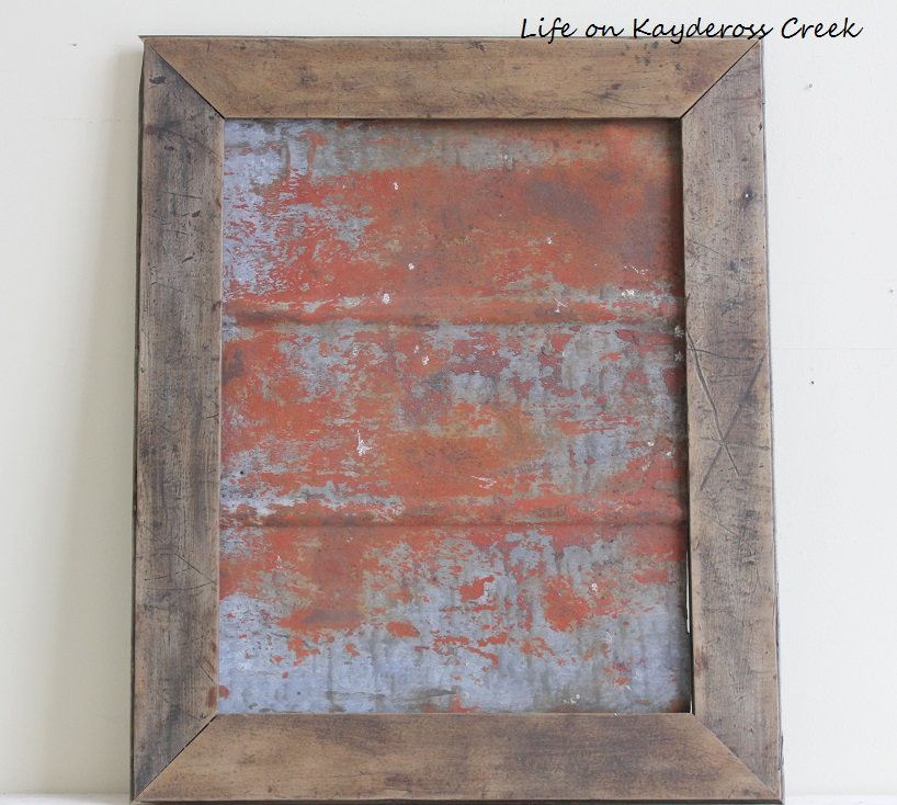 Fixer Upper Inspired Metal Wall Decor Project - Life on Kaydeross Creek