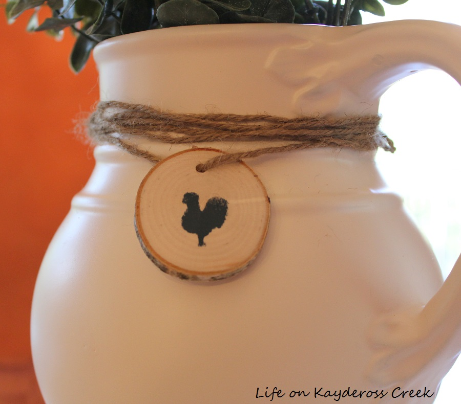 Upcycled Pitcher - Life on Kaydeross Creek