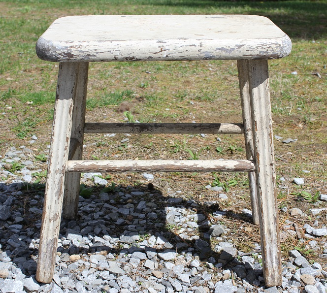Original milking stool - Life on Kaydeross Creek