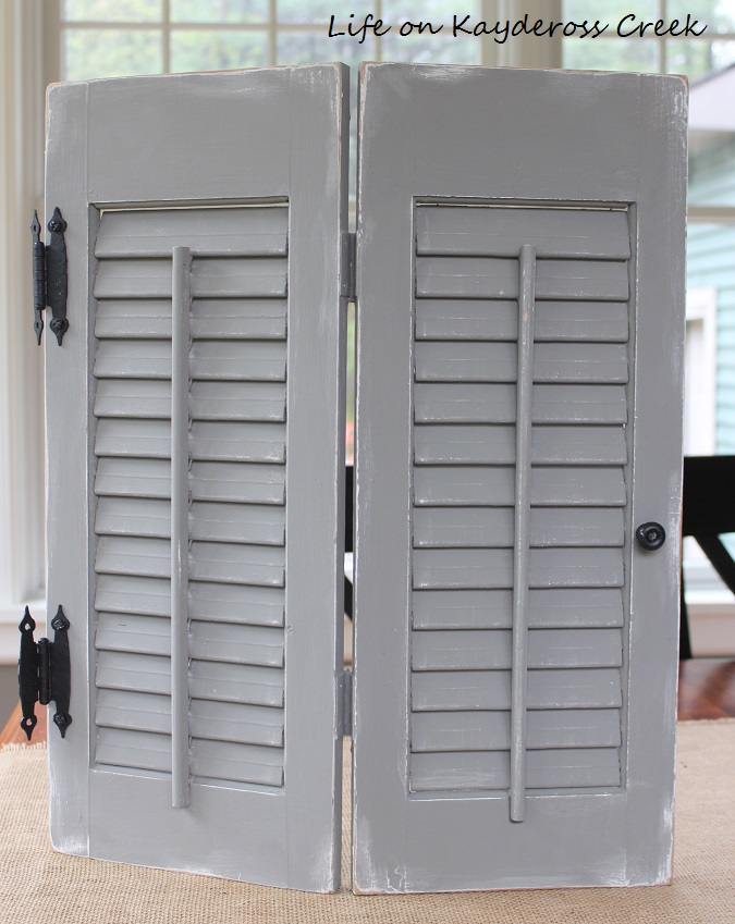 New & Improved Shutters - Life on Kaydeross Creek