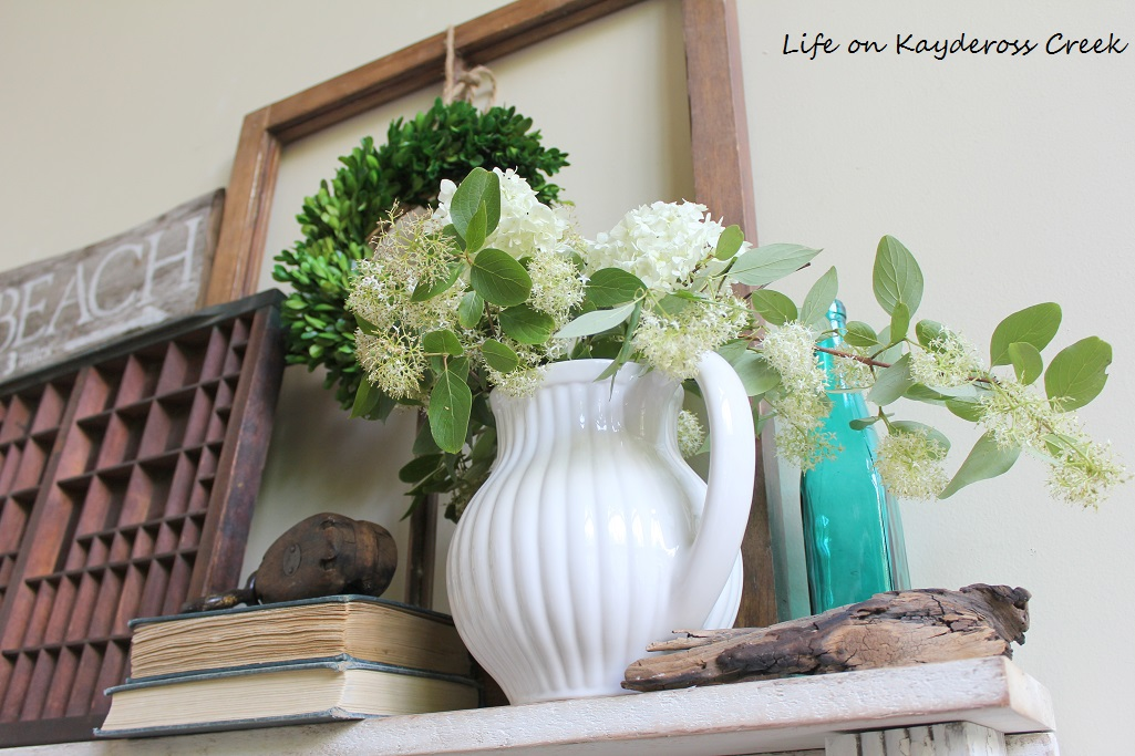 Family Room Shelf - Life on Kaydeross Creek