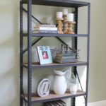 Industrial Style bookshelf - Life on Kaydeross Creek