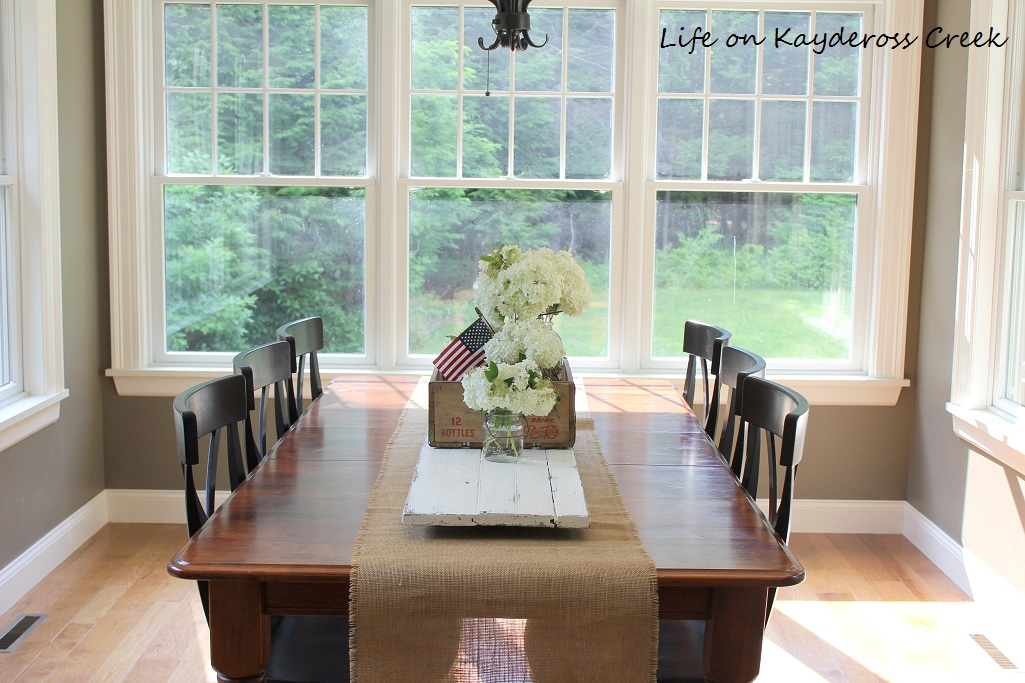 Summer Dining Room - Life on Kaydeross Creek