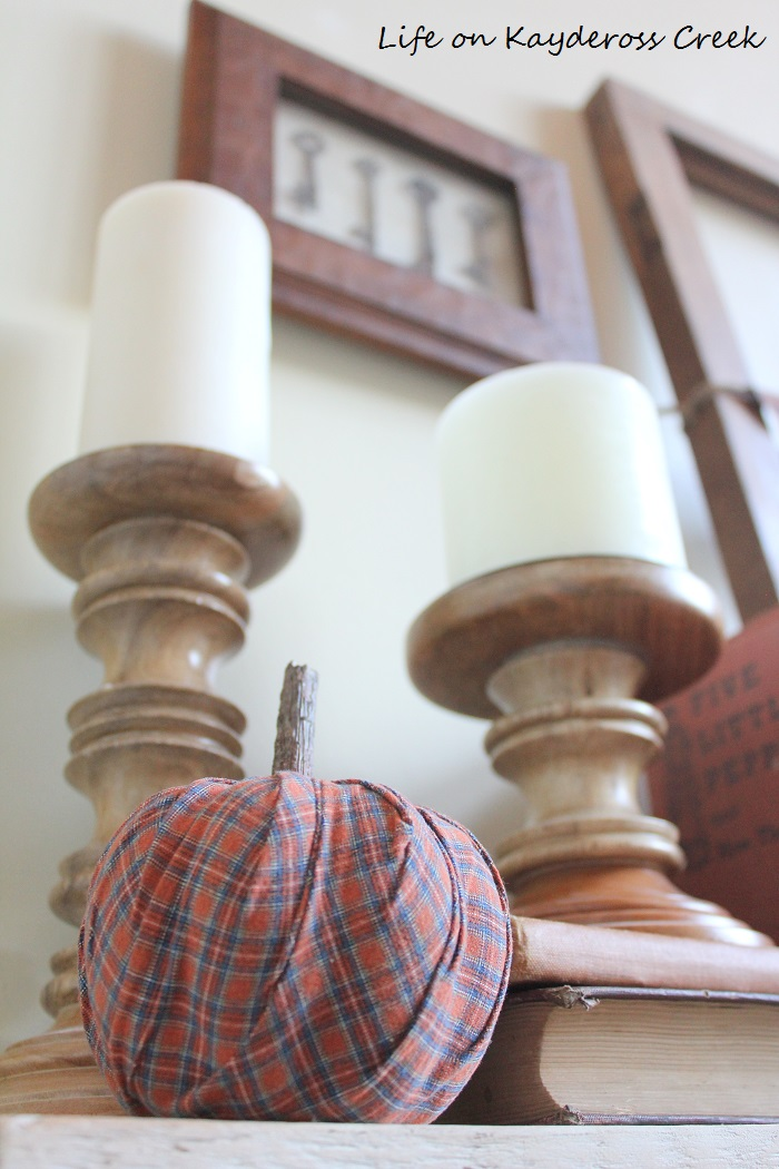Fall DIY Projects - Three crafts made from one shirt. A great way to add unique fall decor to your home on a budget.