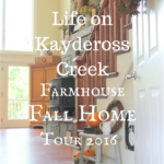 Farmhouse Fall Home Tour 2016