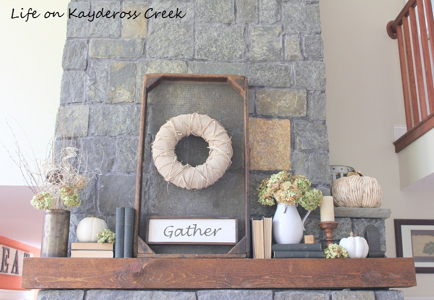 Farmhouse Fall Home Tour - Natural Element - Life on Kaydeross Creek