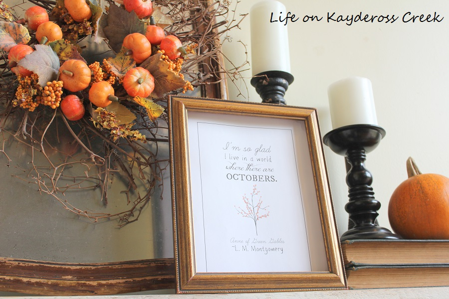 Farmhouse Fall Home Tour - Natural Elements and layering creates a warm space - Life on Kaydeross Creek