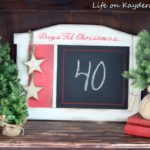 DIY Countdown to Christmas Board