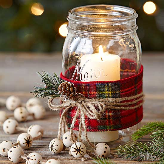 Ways to Save Money on Decorating for Christmsas -Mason Jar Crafts - Budget Friendly DIY Projects for Christmas decor
