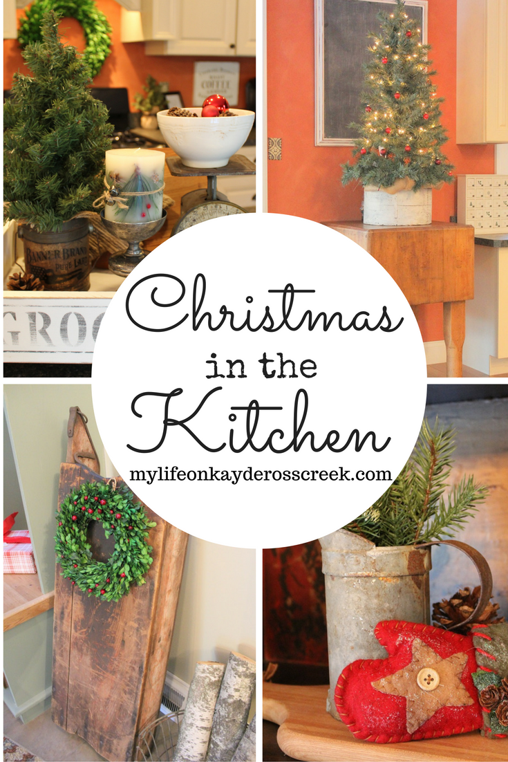 Christmas in the Kitchen - Farmhouse Christmas Tour - Life on Kaydeross Creek