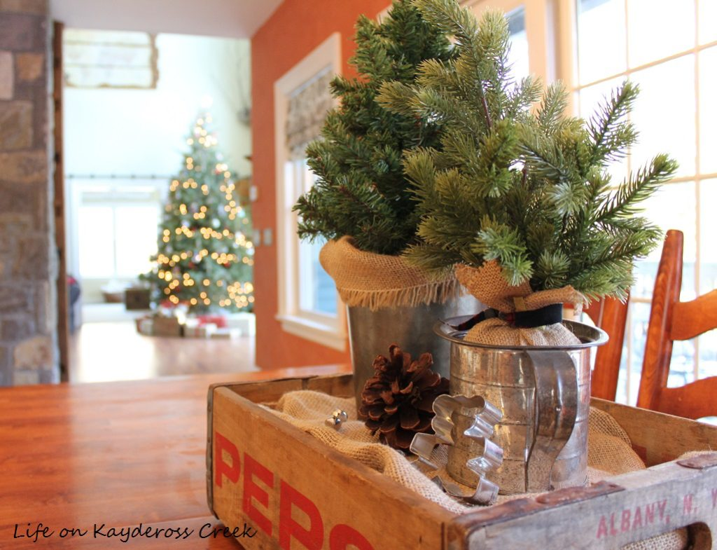 Christmas in the Kitchen - Farmhouse Christmas Home Tour - Life on Kaydeross Creek