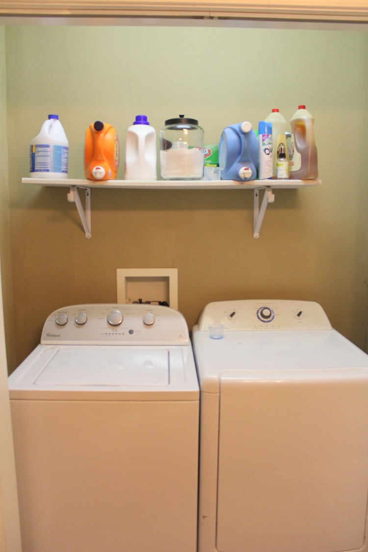 Laundry Room Organization for Under $100 - Life on Kaydeross Creek
