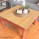 Rustic Coffee Table Makeover