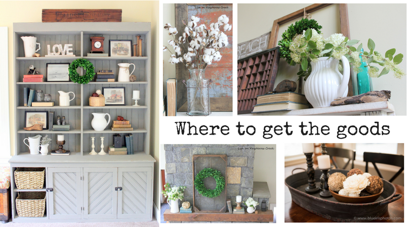 Where to buy budget friendly decor - Life on Kaydeross Creek