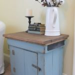 Trash to Treasure -Antique Sewing Table Makeover