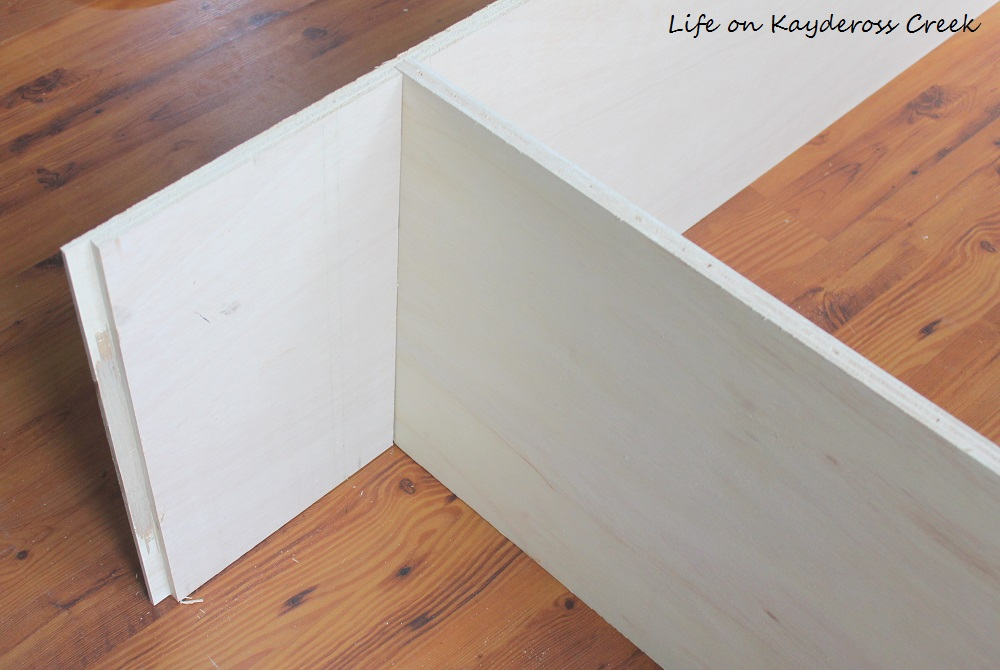 Master Bedroom closet makeover - building the boxes - Life on Kaydeross Creek