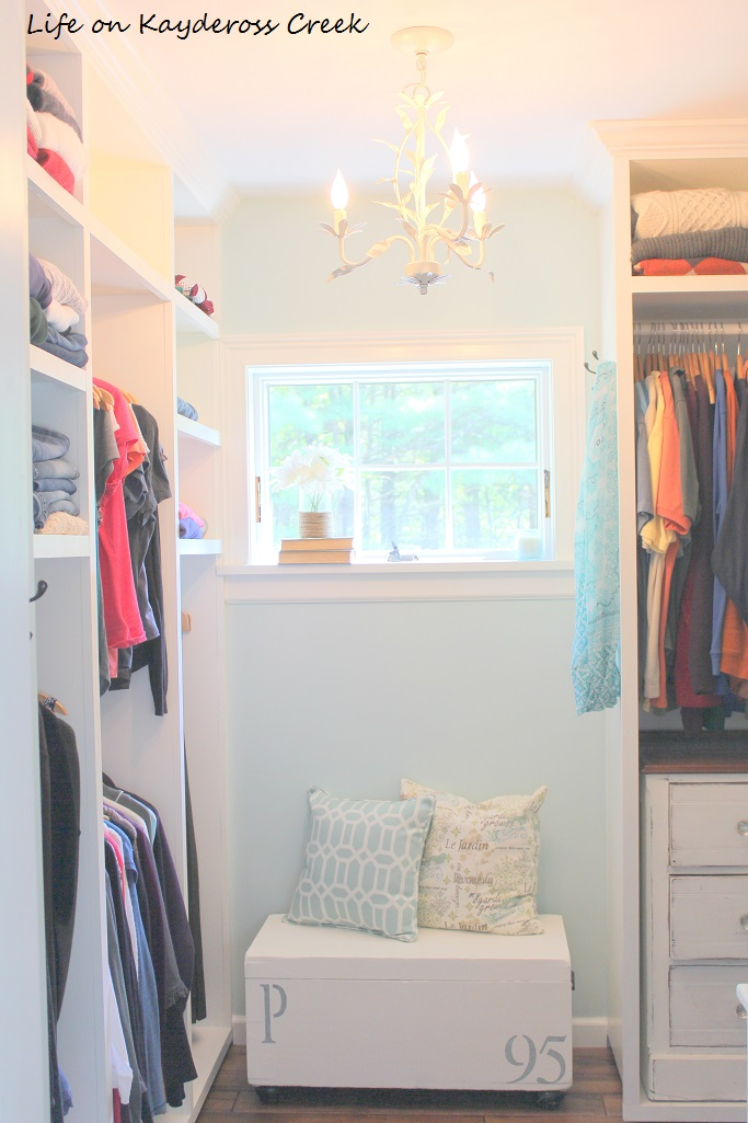 Antique Trunk Makeover- Extra Master Bedroom Closet Storage - Life on Kaydeross Creek