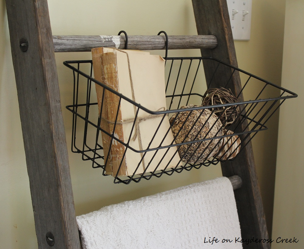 Decorating with Flea Market Finds - Farmhouse Style Accessories - Life on Kaydeross Creek
