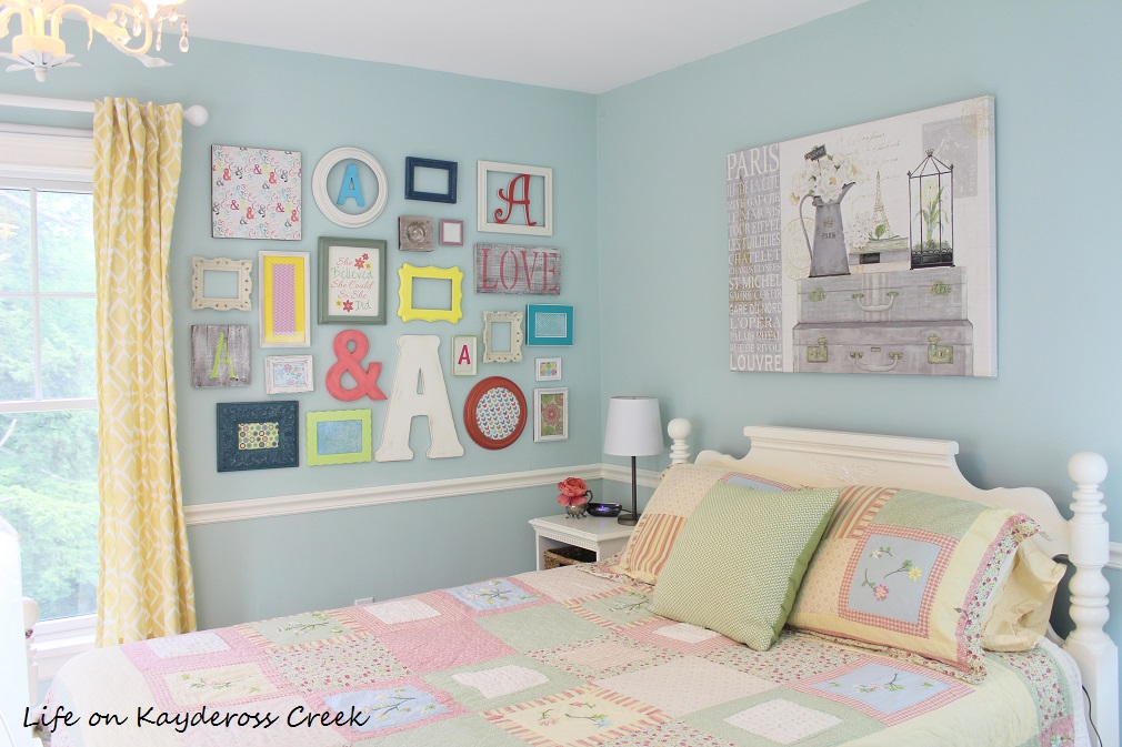How to create a gallery wall on a budget - Pieces that make up a unique gallery wall - Life on Kaydeross Creek
