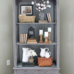 Painted Furniture - Antique Cabinet -Country Chic Paint - farmhouse -Life on Kaydeross Creek