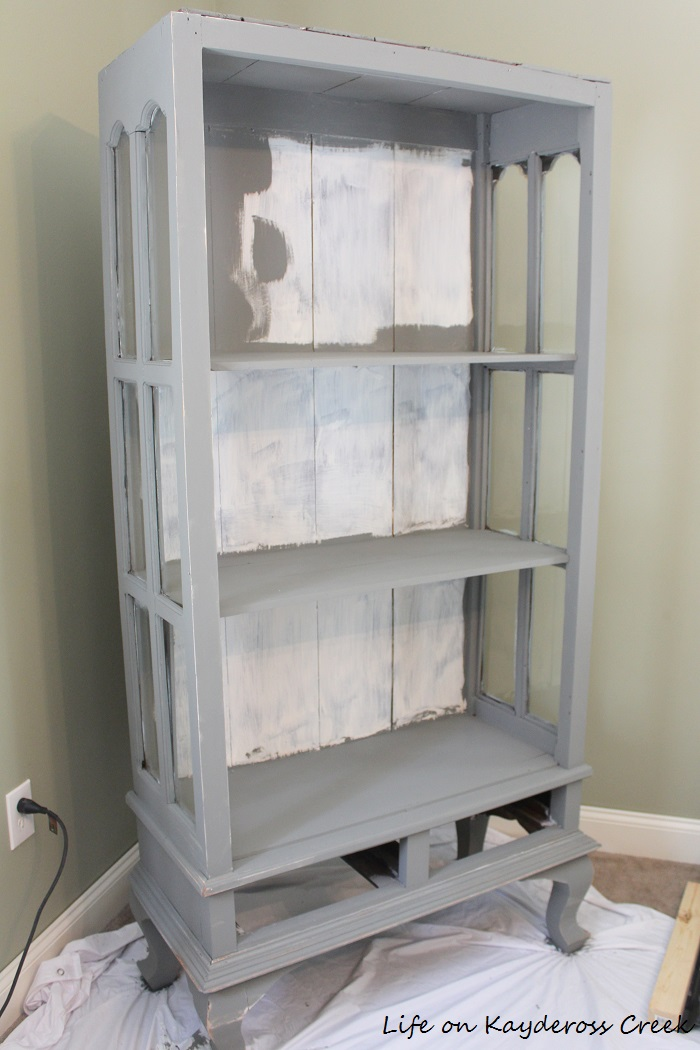 Painted Furniture - How to create an aged or antique look with Country Chic  Paint and - Painted Furniture - Antique Cabinet Makeover - Life On Kaydeross Creek