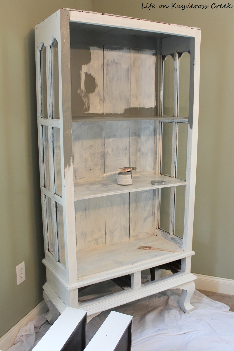 Painted Furniture - priming the surface for paint - how to create an antique or aged look with Country Chic Paint and Wax - Life on Kaydeross Creek