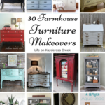 30 Farmhouse Furniture Makeovers
